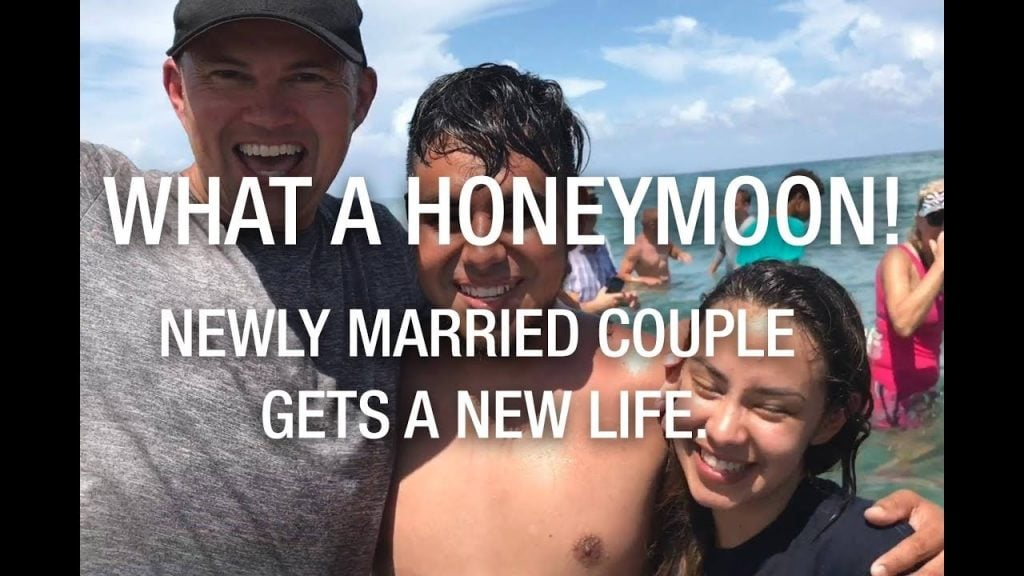 What a honeymoon ❤️ – Newly married couple gets a new life 😃😃