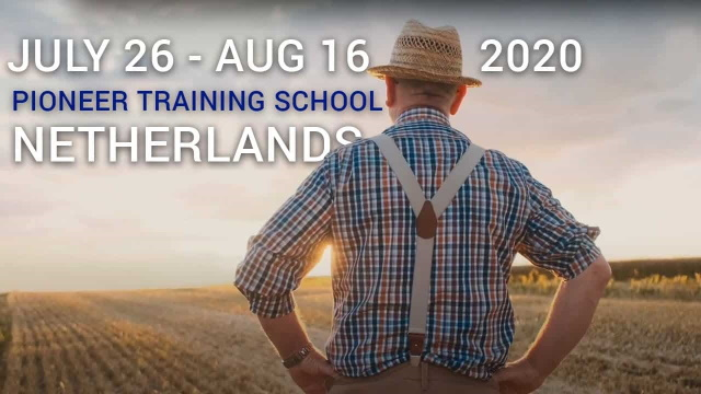 It's time for EUROPE! Join the PTS in the Netherlands July/August 2020!