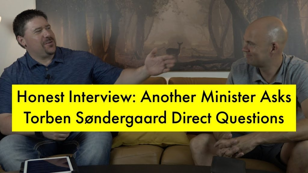 Honest interview:  Another Minister Asks Torben Direct Questions – Answers You've Never Heard Before