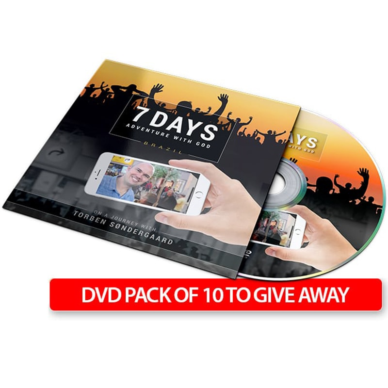 7 Days Adventure With God - 10 Pack