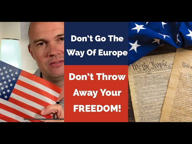 A Warning To America – FREEDOM Is Under Attack – Don't Go The Way Of Europe – Stand Up NOW Before…