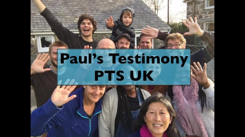"""""""It's so encouraging living the life and doing what God is calling us to do"""" Paul shares from UK PTS"""