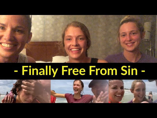 Finally free from sin – What going to church couldn't do, true repentance and baptism did.