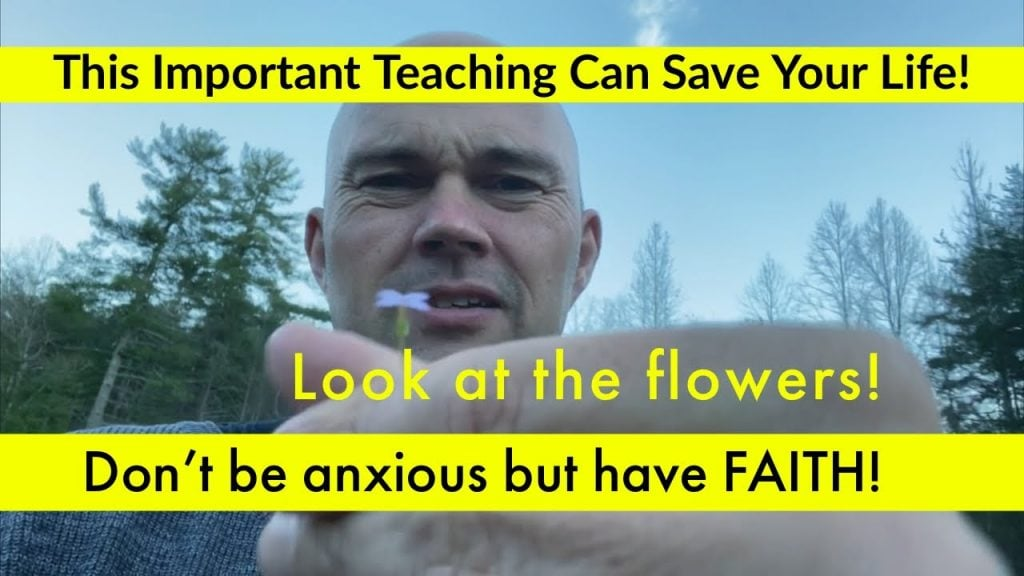 Don't Be Afraid Or Anxious But Have FAITH – It's Time To Learn To Have Faith In God…