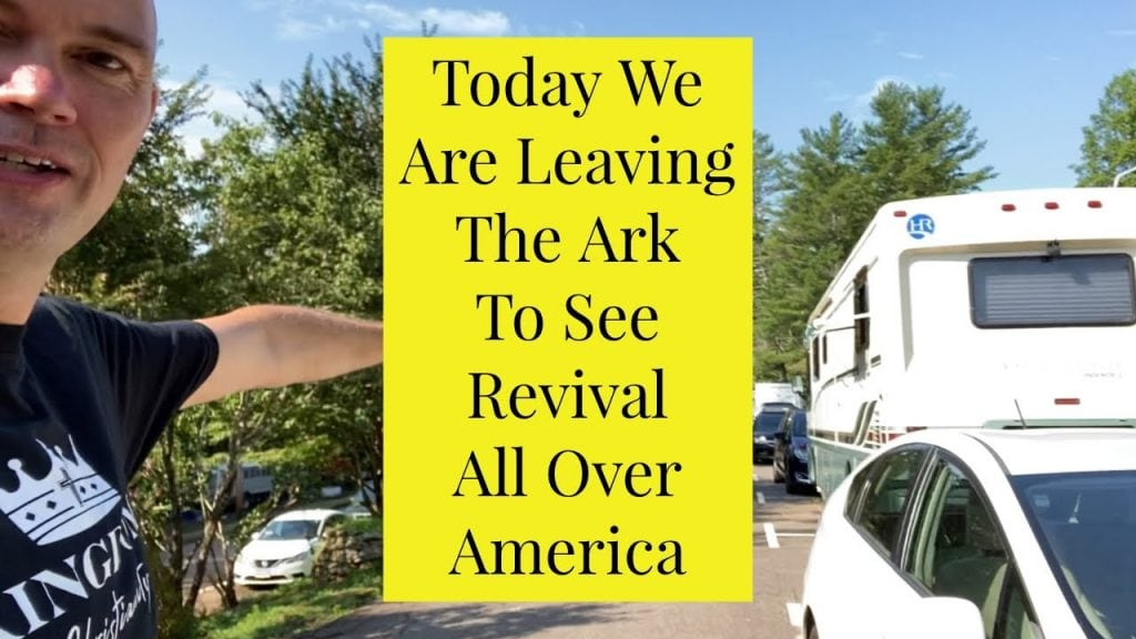 Today We Are Leaving The Ark To See Revival All Over America – Illinois And New Hampshire