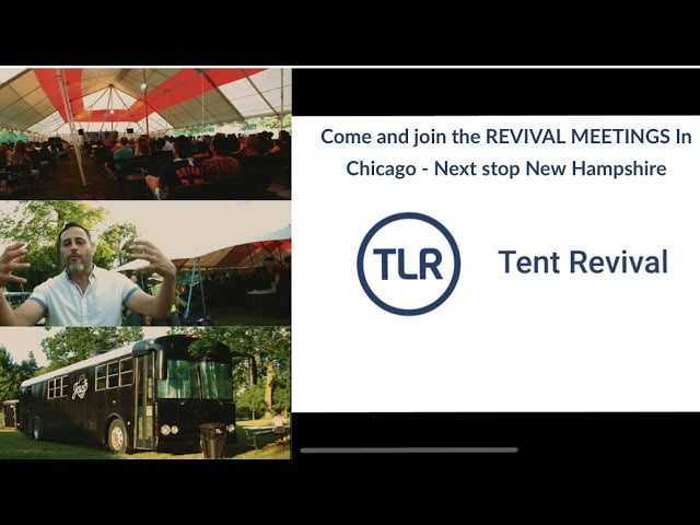 Come and join the REVIVAL MEETINGS In Chicago – Next stop New Hampshire – Follow us online