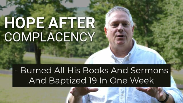 19 Baptized In One Week - Former Methodist Pastor Shares About The Real Life After Ministry