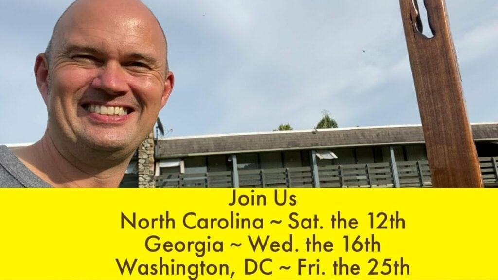 Join Us – North Carolina, Georgia Or Washington, DC