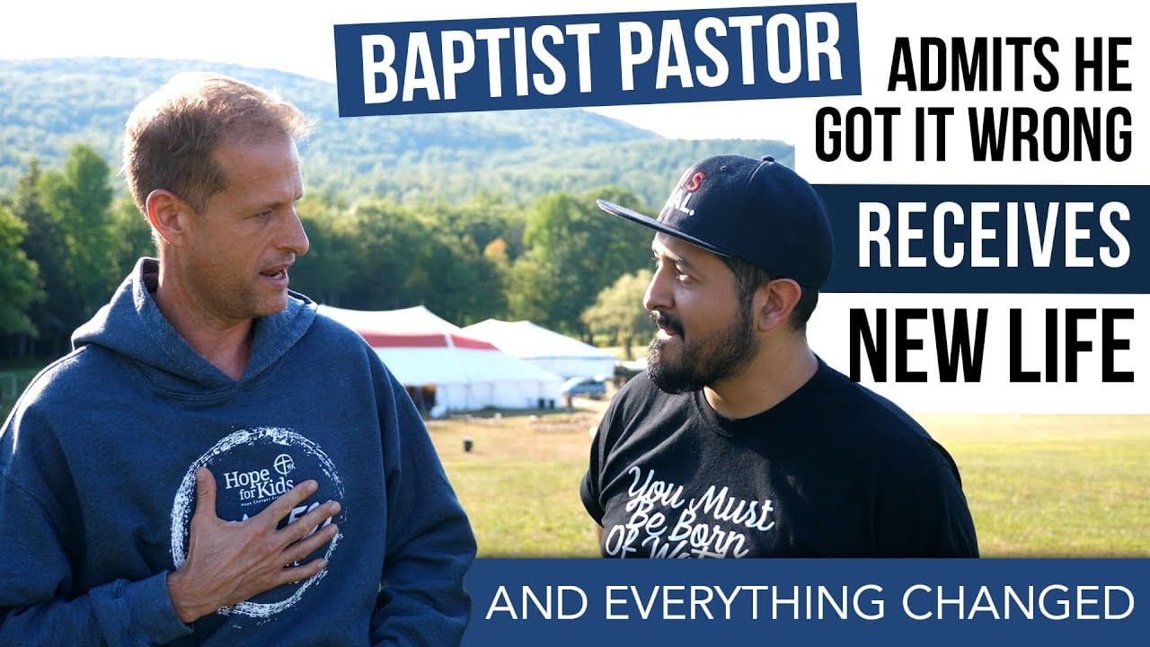 Baptist Pastor Admits He Got It Wrong – He Got A New Life And Everything Changed!