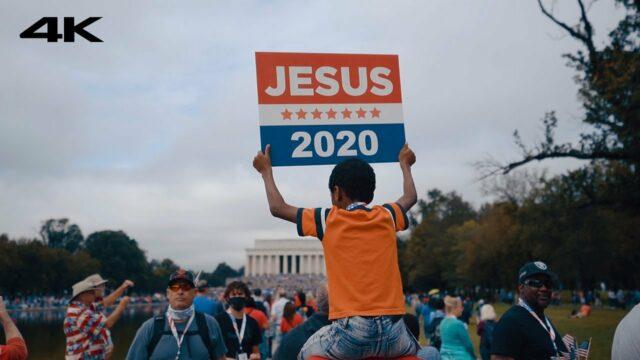 Jesus 2020 - Get America Born Again #TLR VLOG 01