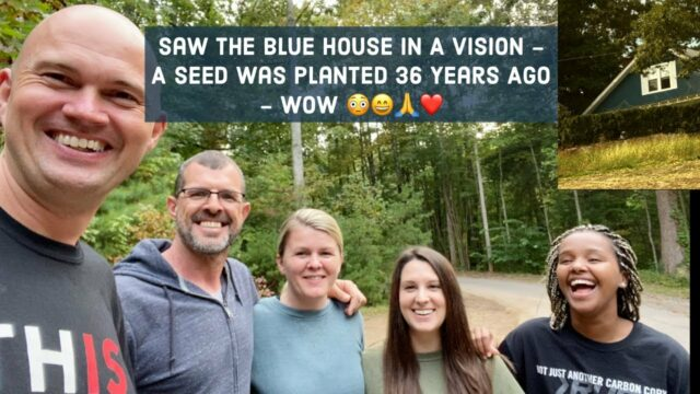 Saw The Blue House In A Vision - Jesus Is Still Building His Church! - Amazing Testimony Like The...