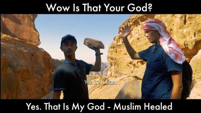 Wow Is That Your God? Yes. That Is My God - Muslim Healed 🙏 Thank you JESUS 🙏