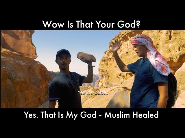 Wow Is That Your God? Yes. That Is My God – Muslim Healed 🙏 Thank you JESUS 🙏