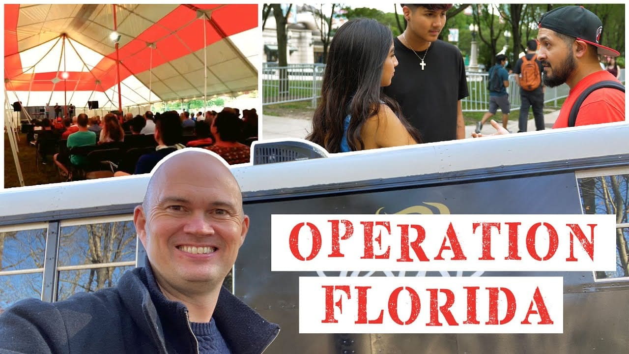 Operation FLORIDA – Tent Meetings, PTS School, House Meetings, Kickstart And Much More