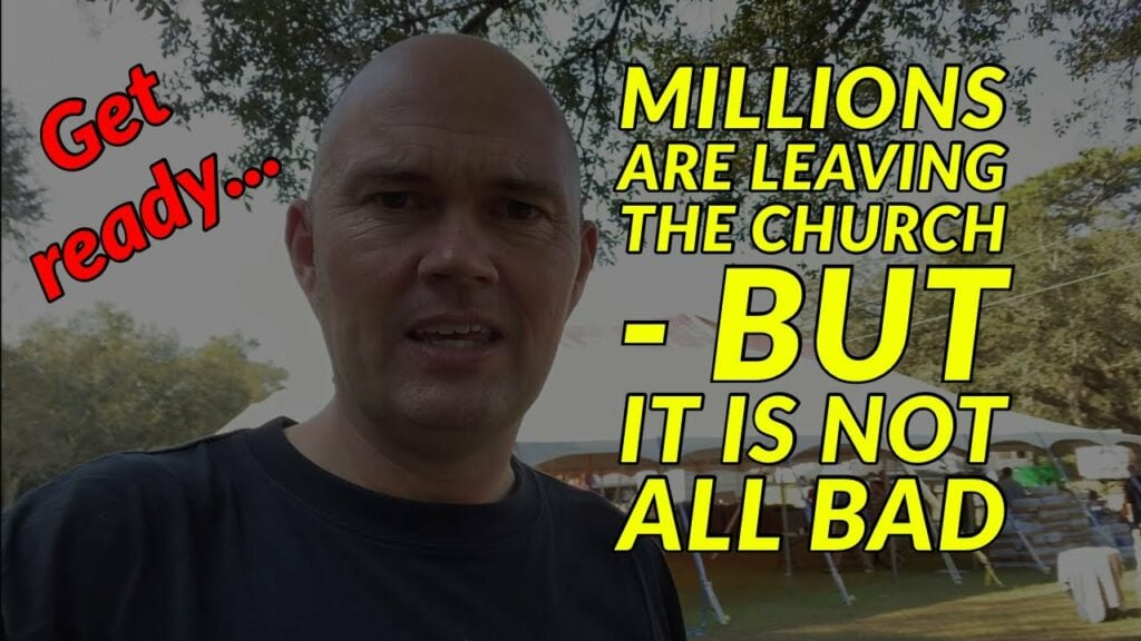 Millions Are Leaving The Church – But It's Not All Bad – The Reformation Has Begun!