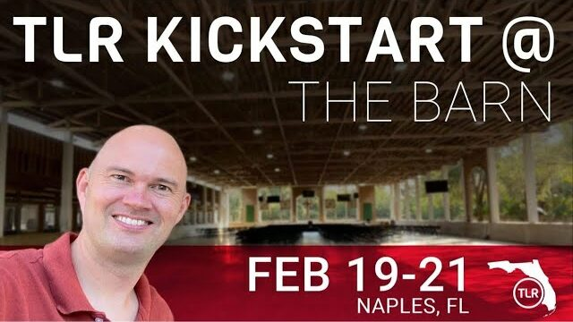 TLR Kickstart Weekend in Naples Florida with Torben Sondergaard - Come and join us here.....