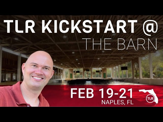 TLR Kickstart Weekend in Naples Florida with Torben Sondergaard – Come and join us here…..