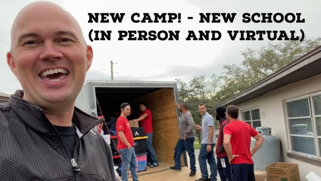 We have just moved again 🙏 NEW CAMP! – NEW SCHOOL (IN PERSON AND VIRTUAL)! – SEE MORE HERE