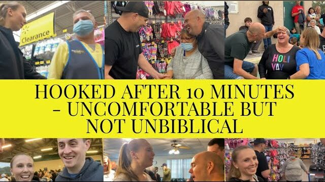 HEALING IN WALMART AND A NEW LIFE! - UNCOMFORTABLE BUT NOT UNBIBLICAL - 🙏 AWESOME VIDEO 🙏