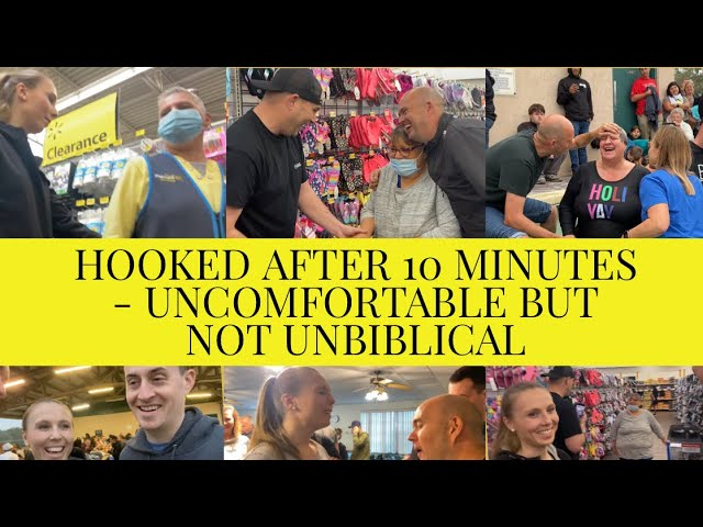HEALING IN WALMART AND A NEW LIFE!  – UNCOMFORTABLE BUT NOT UNBIBLICAL – 🙏 AWESOME VIDEO 🙏