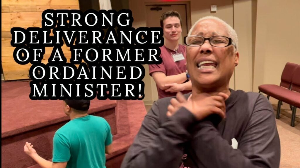 STRONG DELIVERANCE OF A FORMER ORDAINED MINISTER WHO HAD BEEN AWAY FROM GOD FOR MANY YEARS!