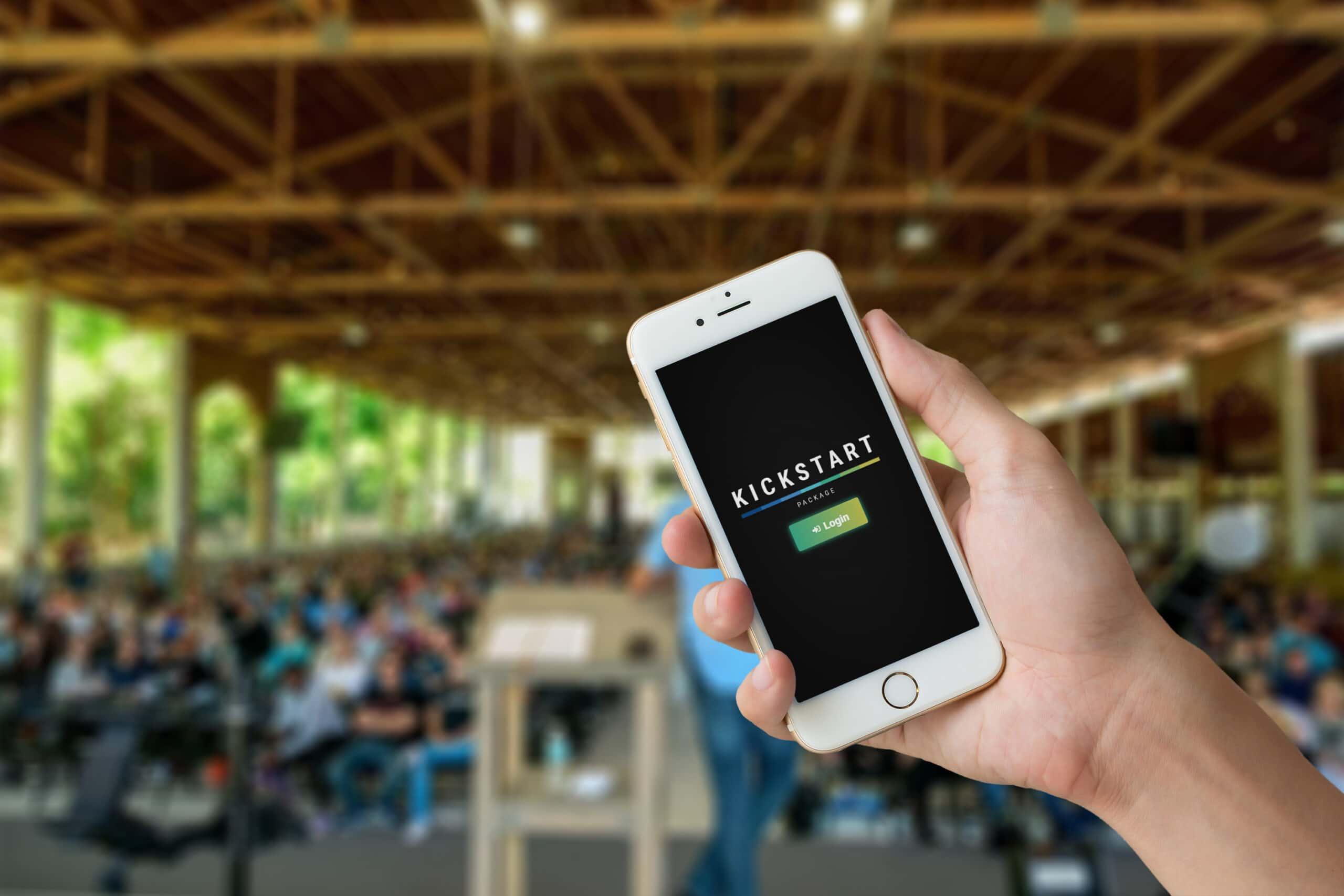 Kickstart Package app mockup 2