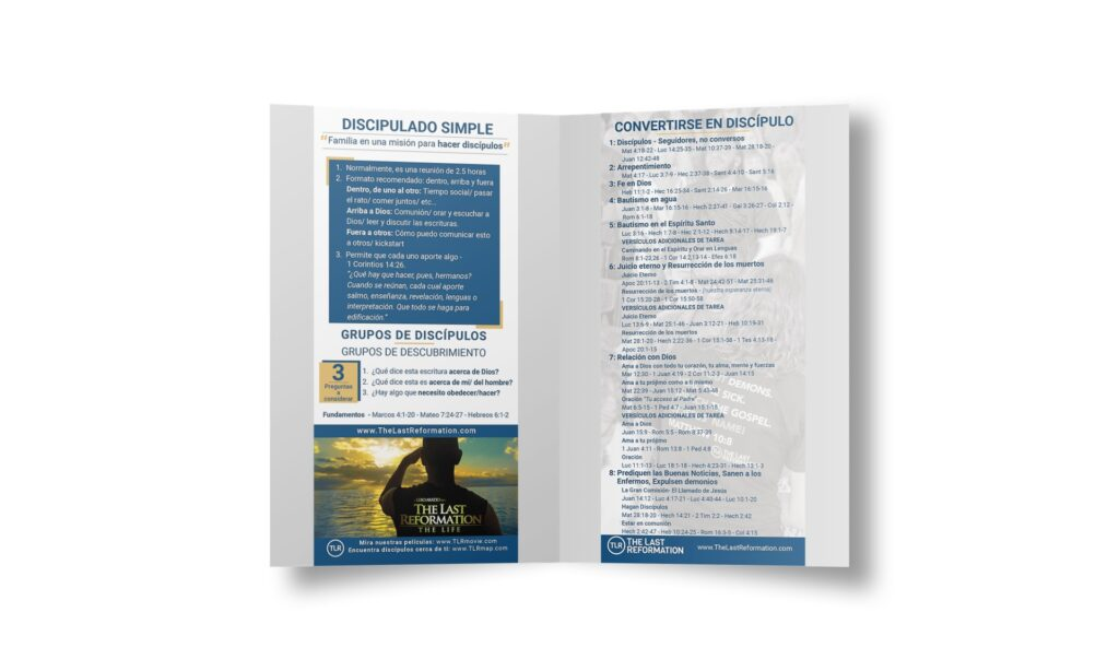 Simple Discipleship Cards | Spanish