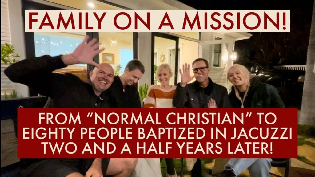 """FROM """"NORMAL CHRISTIAN"""" TO EIGHTY PEOPLE BAPTIZED IN JACUZZI TWO AND A HALF YEARS LATER!"""