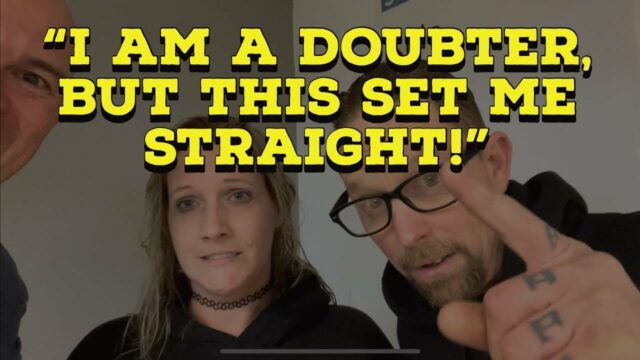 """""""I AM A DOUBTER, BUT THIS SET ME STRAIGHT!"""" - FAMILY TRANSFORMED BY THE POWER OF GOD!"""