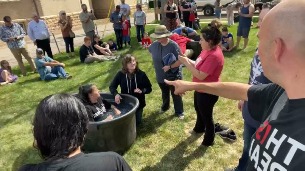 LIVE FROM BAPTISM IN DENVER – FORTY PEOPLE BAPTIZED! – MANY HEALED!