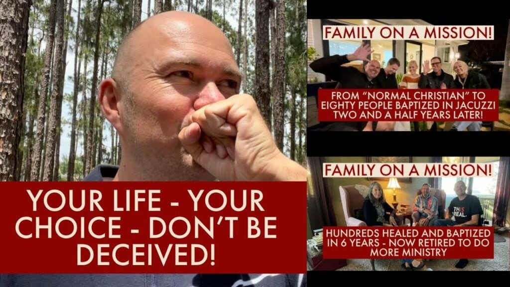 """YOUR LIFE – YOUR CHOICE – DON'T BE DECEIVED! – """"NORMAL CHRISTIAN LIFE"""" – OR SEEING DISCIPLES WHO…"""
