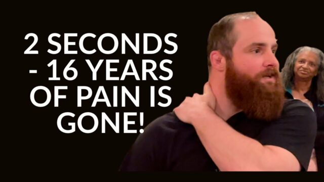 2 SECONDS - AND 16 YEARS OF PAIN IS GONE! - POWERFUL HEALING AND BAPTISM!