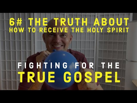 FIGHTING FOR THE GOSPEL –  HOW TO RECEIVE THE HOLY SPIRIT