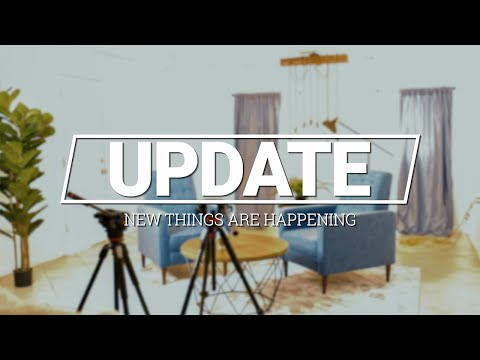 UPDATE – NEW ROADTRIP – NEW YOUTUBE CHANNEL – NEW STUDIO – AND SO MUCH MORE!