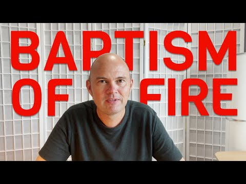 DOES THE BIBLE TALK ABOUT A FIRE 🔥 BAPTISM?