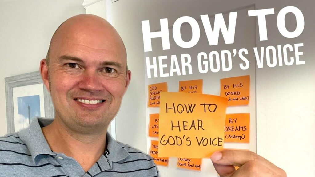 HOW TO HEAR GOD'S VOICE (STILL VOICE – VISIONS – DREAMS – PROPHECY – THE LIST IS LONG)