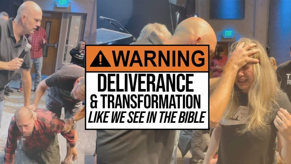 POWERFUL DELIVERANCE!  (WARNING – DISTURBING PICTURES)